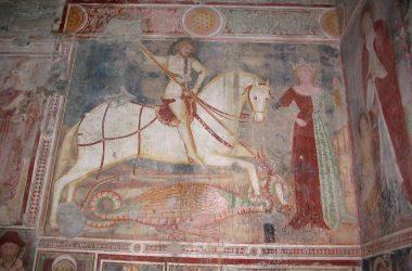 Affresco Chiesa di San Giorgio in Lemine- Almenno San Salvatore