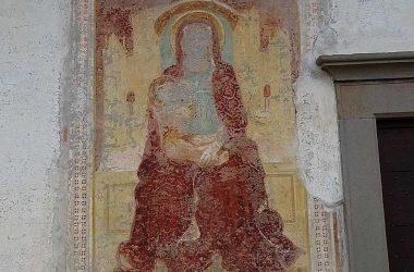 Affresco Novezio fraz.di Cerete - Bergamo