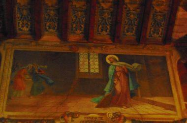 Affresco Santuario della madonna della Scopa - Osio Sopra