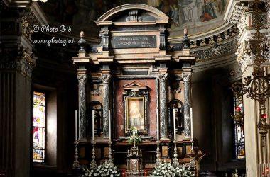Affresco della Madonna delle Lacrime nel Santuario di Treviglio