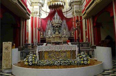 Altare Chiesa Parrocchiale di San Martino - Nembro bergamo