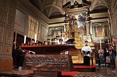 Altare Chiesa San Lorenzo Barzizza Gandino
