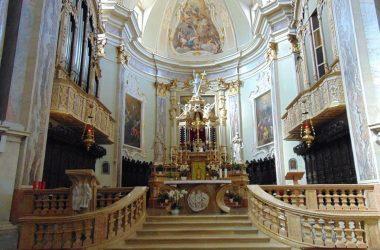 Altare Chiesa di San michele - Leffe