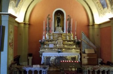 Altare Santuario della madonna della Scopa - Osio Sopra