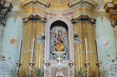 Altare Santuario di Santa Maria del Sasso - Cortenuova