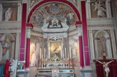 Altare del Santuario Madonna dello Zuccarello - Nembro
