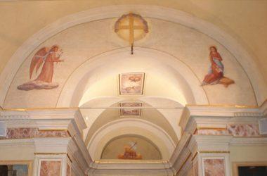 Annunciazione, affresco presso Madonna del Castello Gandosso