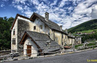 Arnosto, frazione di Fuipiano in alta valle Imagna