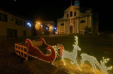 Basilica di Gandino a Natale