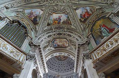 Basilica di San Martino, Edificata a partire dal 1656