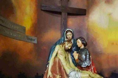 Bonate sotto - Bergamo Affreschi Chiesa Sacro Cuore