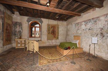 Camera Bartolomeo Colleoni Castello di Malpaga Cavernago