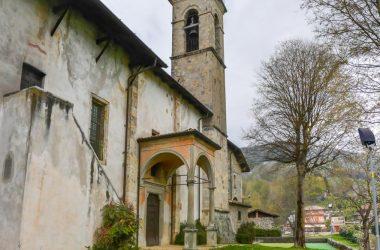 Campanile Santuario Santissima Trinità - Casnigo