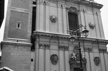 Campanile del Santuario della Madonna delle lacrime Treviglio Inverno