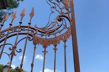 Cancello Castello Conti di Calepio