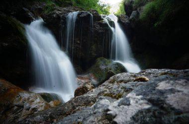 Cascate in Val Vertova