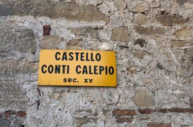 Castello Conti di Calepio - Castelli Calepio Bg