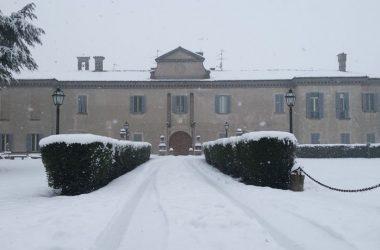 Castello Oldofredi in inverno- Calcio