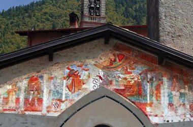 Cerete Alto- Bergamo Cappella dell'Annunciata