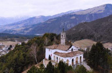 Chiesa della Santissima Trinità - Clusone Monte Crosio