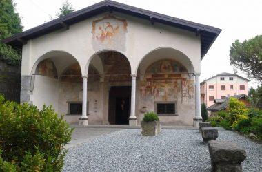 Clusone (Bergamo ) . Chiesa di San Defendente