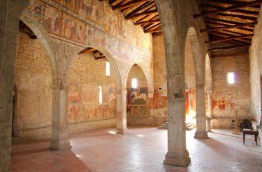 Colonnato Chiesa di San Giorgio in Lemine Almenno San Salvatore