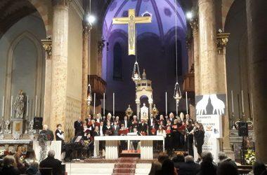 Concerto di Natale in Ensemble con le corali di Bonate Sotto nella chiesa del Sacro Cuore
