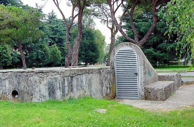 Dalmine Bergamo rifugi antiaerei del 1939