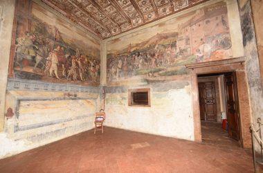 Dipinti Castello di Malpaga Cavernago