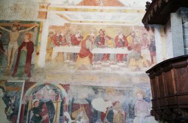 Dipinti La chiesetta di Ascensione - Costa Serina