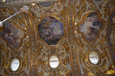 Dipinti chiesa del monastero di Santa Grata in via Arena.