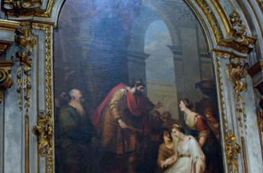 Dipinto Basilica di San Martino - Alzano Lombardo
