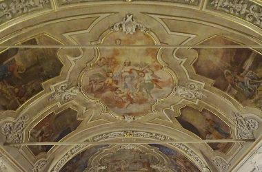 Dipinto Chiesa Santa Maria Nascente Gandellino