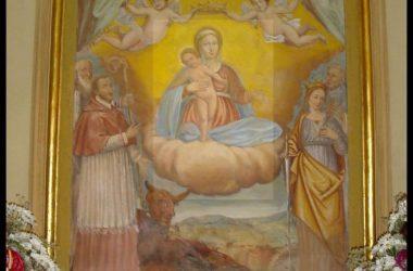 Dipinto Chiesa della Madonna del Castello - Gandosso
