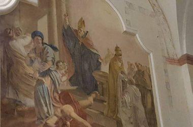 Dipinto Convento di San Nicola - Almenno San Salvatore