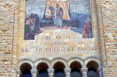 Dipinto Ponte San Pietro Parrocchia SS. Pietro e Paolo