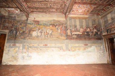 Disegni nel Castello di Malpaga Cavernago