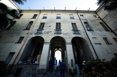 Facciata Accademia Tadini Lovere Bg
