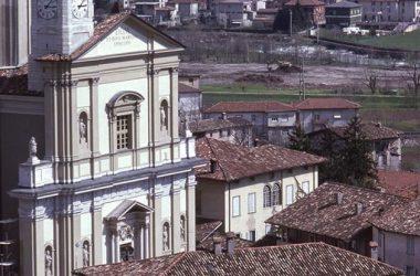 Facciata Chiesa Parrocchiale di San Martino - Nembro