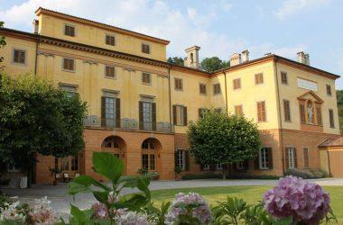 Facciata Villa Pesenti Agliardi - Paladina