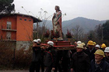 Festa miniere a Gorno Bg