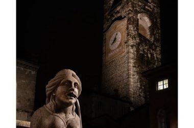 Fontana Contarini e Campanone Bergamo