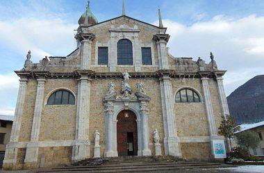 Gandino Basilica di santa Maria Assunta