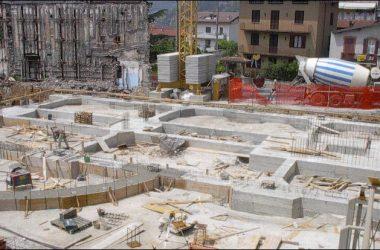Gandino il nuovo Oratorio in costruzione