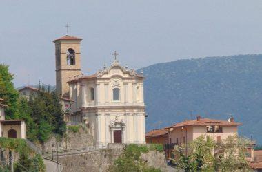 Gandosso Bergamo Chiesa parrocchiale dell'Annunciazione