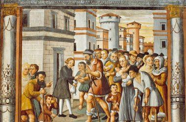 Girolamo Colleoni, Ciclo della Passione, Resurrezione, affresco, 1532. Lallio, chiesa di S. Bernardino