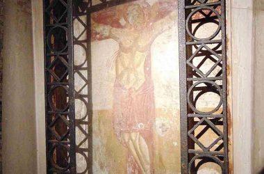 Grotta con Affresco Chiesa di San Vittore - Brembate