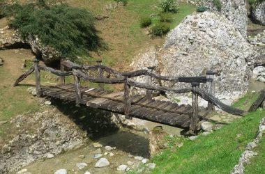 Il ponte del Museo del Mulino - Castione della Presolana