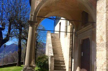 Ingresso Santuario Santissima Trinità - Casnigo