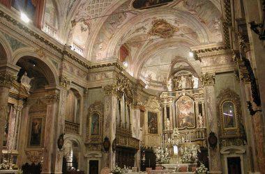 Interno Basilica di Santa Maria Assunta - Clusone